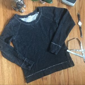 J. Crew Sweatshirt With Zip Detail